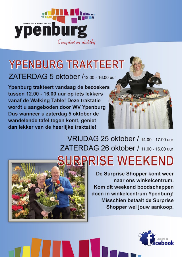 Ypenburg trakteert & Surprise weekend